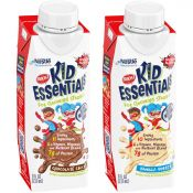Kids' BOOST® BOOST® Kid Essentials™ bottles in Chocolate and Vanilla flavors
