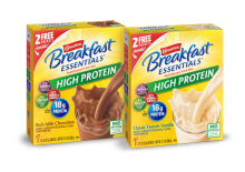 Carnation Breakfast Essentials® High Protein Nutritional Drink Mix in Chocolate and Vanilla flavors