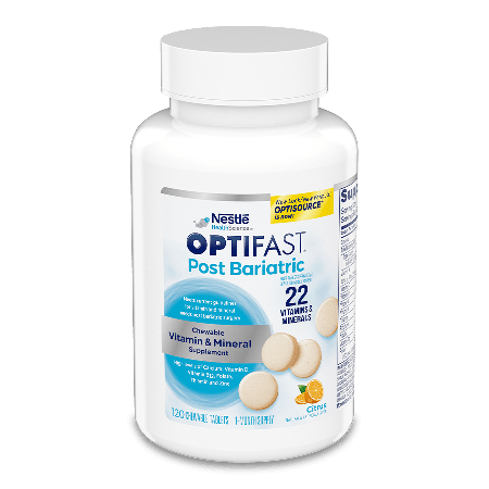 OPTIFAST® Post Bariatric Chewable Vitamin and Mineral Supplement
