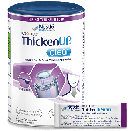 Resource® ThickenUp® Clear thick it powder container